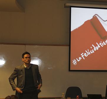 Franck Salmon, invitado curso Estrategia de Marca