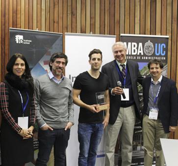 Recorrido.cl gana la primera versión del IE Venture Day Chile