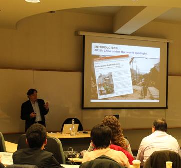 Charla de Laurence Golborne en MBA-UC