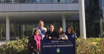 Alumnos del MBA-UC participan del GNW en Yale