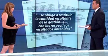 Marta Del Sante explica casos de estafa en Tele13