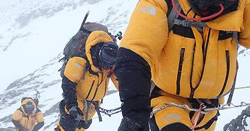 """Rodrigo Jordán y su expedición al Everest: """"Fue muy significativo encontrarnos con el cuerpo de Víctor Hugo""""."""