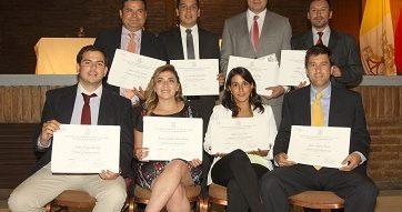 Ceremonia de clausura de los Diplomado 2016 del Centro de Desarrollo Directivo UC