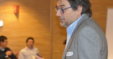 Gestión de Redes, Taller III del programa Desarrollo de Carrera con los expositores Danilo Rolij y Hugo Badilla.