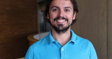 """Guillermo García, alumno del MAS UC: """"Quiero desarrollarme en el área de salud""""."""