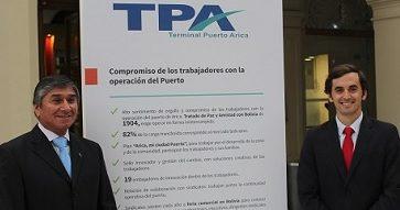Terminal Puerto Arica obtiene Premio Carlos Vial Espantoso 2017