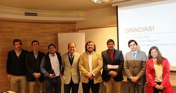 """Charla del Banco BICE: """"La cultura organizacional en los nuevos tiempos""""."""