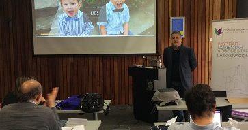 """Edgardo Ochoa, Founder of Bci Labs, en """"Seminario de Innovadores Distinguidos"""": """"La tecnología más diseño es igual a magia"""""""
