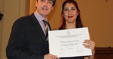 Graduación del Diplomado en Liderazgo Laboral 2017 versiones Santiago y Viña del Mar