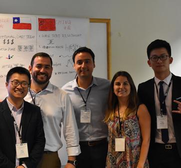Una nueva versión del C-Mix se vivió en el MBA UC con 20 alumnos de la Universidad de Tsinghua