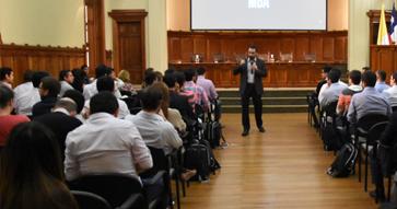 El MBA recibe a más de 140 nuevos alumnos con una dinámica bienvenida