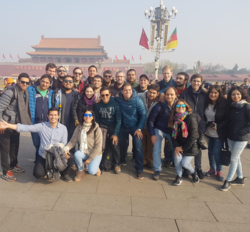 20 alumnos MBA viajaron a China a vivir la experiencia del C-Mix