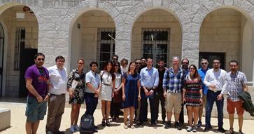 Alumnos y graduados del MBA participan de gira en Israel junto a docentes del programa