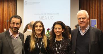 El nuevo Seminario de Graduación MBA UC innova con proyectos sociales