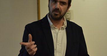 Dirección de Emprendimiento del Centro de Innovación UC con Felipe González