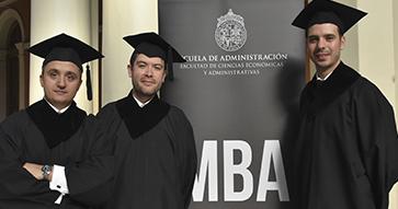 Gran ceremonia de graduación MBA UC 2018