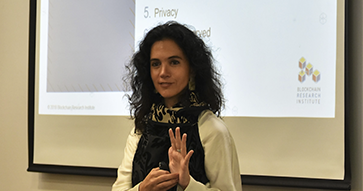 """María Pía Aqueveque: """"La tecnología Blockchain apuesta por la disrupción en la economía digital"""""""