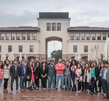 Alumnos MBA UC participaron en la experiencia Global Network Week