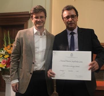 Graduación del Diplomado Liderazgo Laboral 2018 versión Santiago