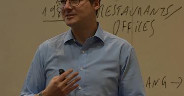 Con las clases del profesor Stefan Wagner sobre innovación y desarrollo de nuevos productos, finalizó la TAV 2019
