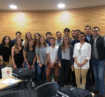 Nuevos alumnos de intercambio se unen al MBA UC