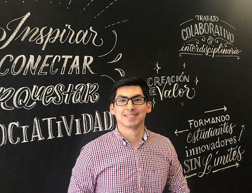 """Renzo Morán, alumno MI 2019: """"¡Qué gran oportunidad la de venir a estudiar a un lugar donde quiero expandir mi negocio más adelante, en algo que me apasiona, que es la innovación, y en una buena universidad!"""""""