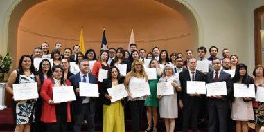 55 dirigentes sindicales se graduaron del Diplomado en Liderazgo Laboral