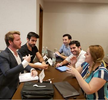 Se dio inicio a una nueva versión del International Summer Program del MBA UC, con alumnos de Estados Unidos y Australia