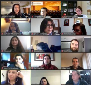 Diplomados de la Escuela de Administración reciben a nuevos alumnos en versión virtual