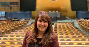 Silvia María Alquijay: Alumni MBA UC de Centroamérica en la ONU, Nueva York