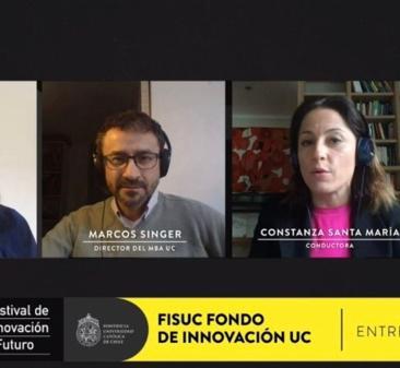 Con entrevistas, conversatorios, competencias de startups, feria virtual de emprendedores y talleres gratuitos, concluyó la segunda versión del Festival de Innovación y Futuro UC