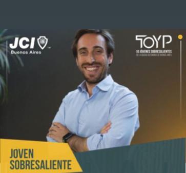 Alumno del Magíster en Innovación recibe premio de la organización internacional JCI