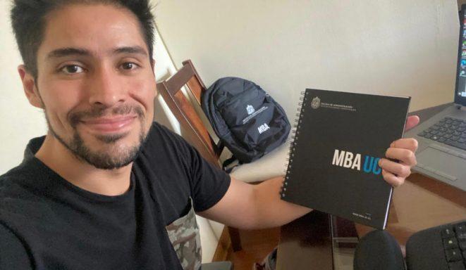 MBA UC de la Escuela de Administración recibió a una nueva generación de alumnos